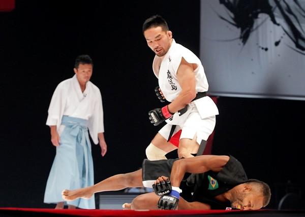 「巌流島」では豪快な勝利を重ねたが、キックボクシングはグローブの違いなどもあり、簡単ではないと感じている