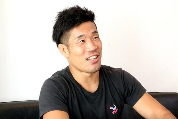 """日本では敵なしの階級だが、海外には""""猛獣""""のような選手も多い。その強敵たちと戦っていきたいと話す"""