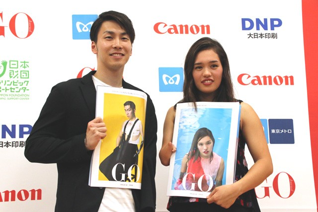 グラフィックマガジン『GO Journal』2号発刊イベントに登場した(左から)山田、一ノ瀬