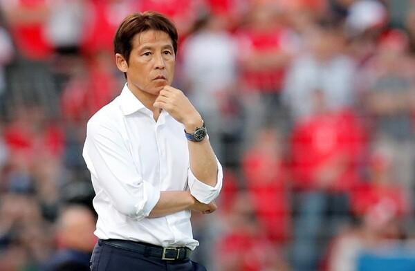 日本は0−2でスイスに敗れたが、西野監督は選手たちの「トライ」や「チャレンジ」を評価した