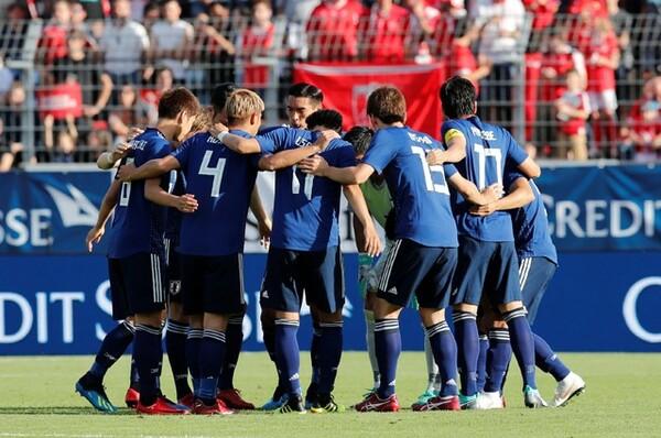 日本は現地時間8日、スイス代表との親善試合に臨んだ