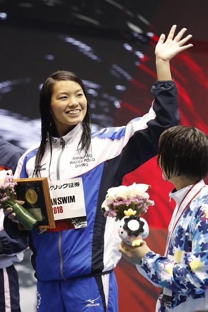 競泳とOWSの両競技で五輪を目指す、愛知出身の森山幸美