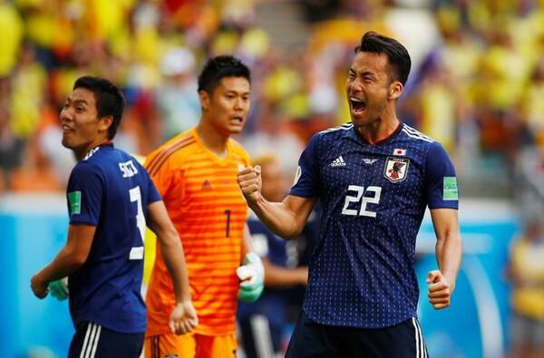 日本の守備陣をリードし、コロンビア戦の勝利に貢献した吉田麻也