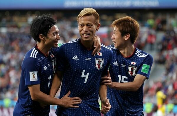 本田は途中出場から日本の2点目をゲットした