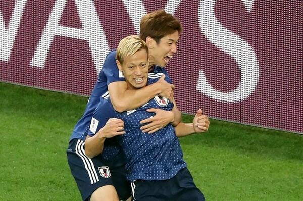背番号4・本田圭佑はセネガル戦で途中出場でピッチに入り、結果を残す