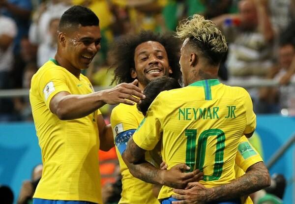 ブラジルはネイマールに頼らず、各選手が与えられた役割を果たしている