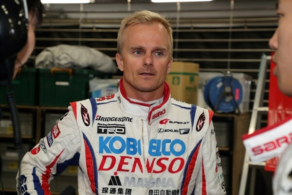 F1で実績のあるコバライネン。スーパーGT参戦1年目は苦戦したが、2年目には実力を発揮しチャンピオンに輝いた