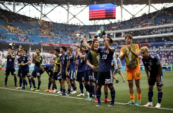 日本代表はポーランドに敗れながらも決勝トーナメント進出を決めた