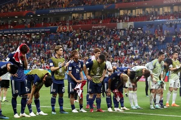 日本代表のW杯での冒険は、ロストフ・ナ・ドヌで幕を閉じた