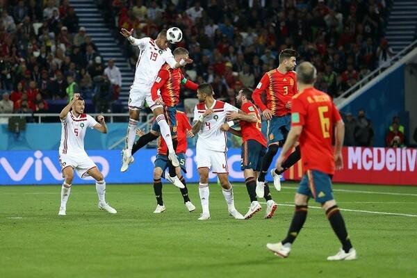 2連敗のモロッコはGL最終戦でスペインに引き分けるなど、W杯出場国としての意地を見せた