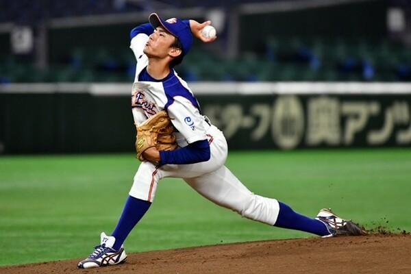制球力は社会人でもトップクラスのNTT東日本・堀。昨年の都市対抗ではルーキーながら優勝に貢献した