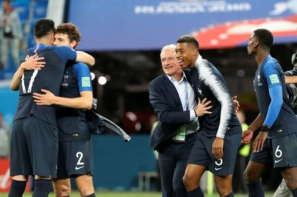 決勝に進んだフランス代表は大会を勝ち進む中でチームとして成長し、成熟してきた