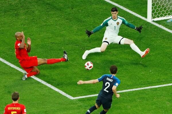 ロリス、クルトワの両GKのパフォーマンスが非常に高く、それが試合の緊迫感を高めていた