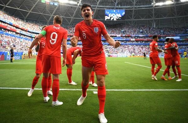 スウェーデンに2−0で勝利し、準決勝に進出したイングランド