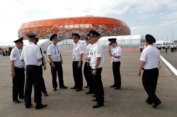 ロシア国内のセキュリティー体制が徹底され、大きな問題は起きていない