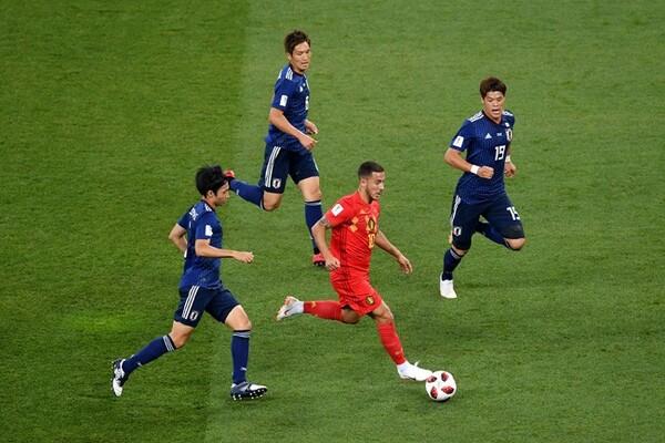 """ロシアではひとつの局面に複数の選手が絡んでいく""""日本のスタイル""""が示された"""