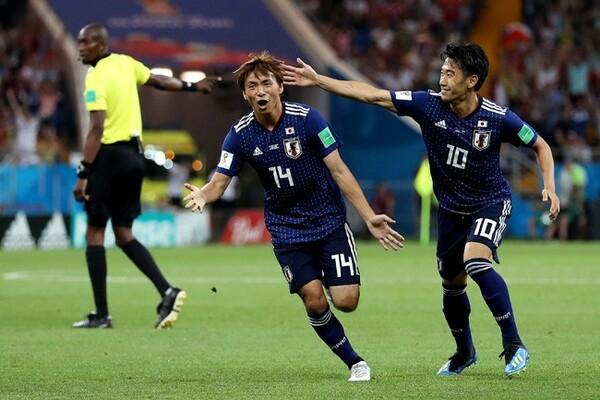 「W杯ロシア大会で台頭したスター5選手」に選出された乾。日本は世界に大きなインパクトを残した