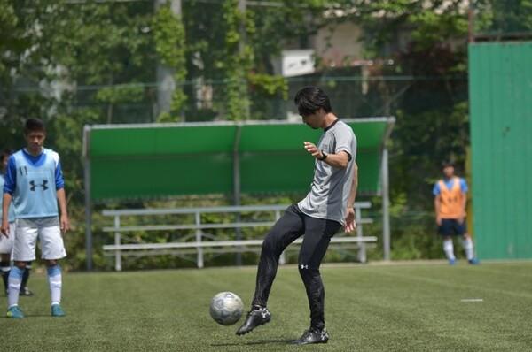 「ボールを保持している状態」から考え、理想のチーム作りを目指しています
