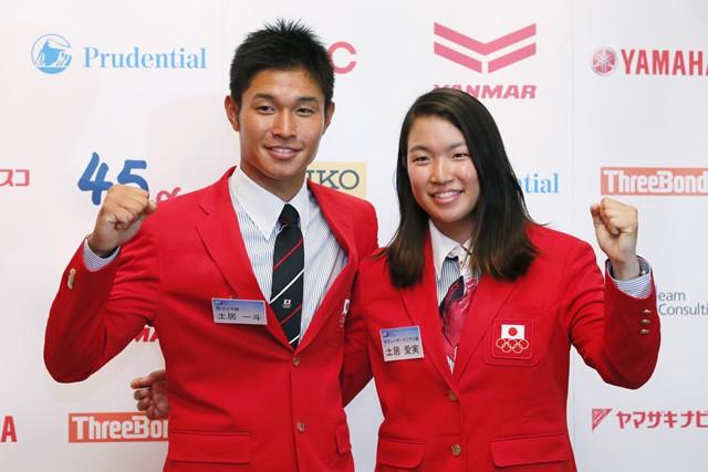 16年のリオデジャネイロ五輪には、兄の一斗(左)とともに出場した