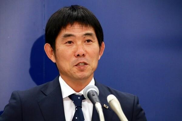 U−21日本代表のメンバー発表会見に臨んだ森保一監督