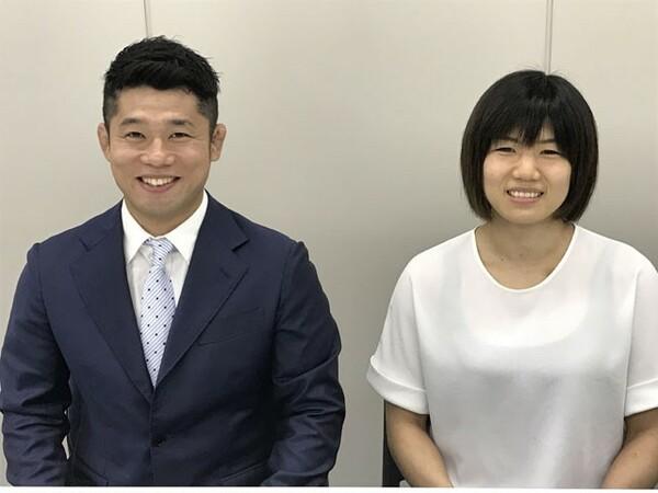 五輪でメダルを獲得した経験を持つ平岡拓晃(左)と中村美里に、アジア大会における柔道の展望を語ってもらった