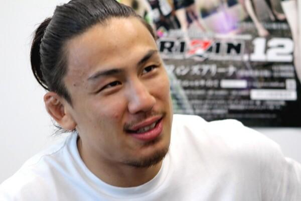 RIZINでは連勝を続ける矢地。「純粋に格闘技と向き合えるので毎日楽しくやれています」と話す