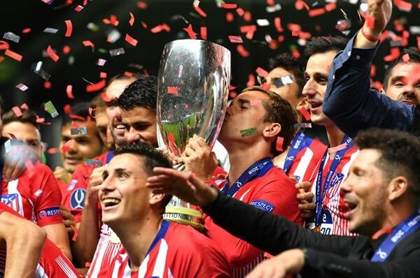 15日にUEFAスーパーカップでレアルを破り、アトレティコは幸先のいいスタートを切った