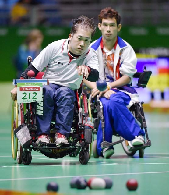 リオパラリンピックで銀メダルを獲得したボッチャ。重度の脳性まひなど四肢に障がいがある人のために考案された