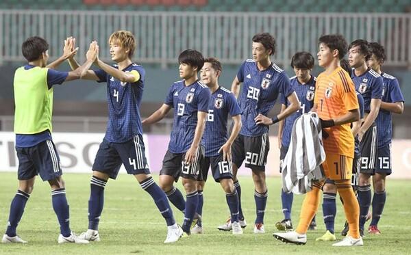 日本がアジア大会準々決勝でサウジアラビアに2−1で勝利。ベスト4進出を果たした