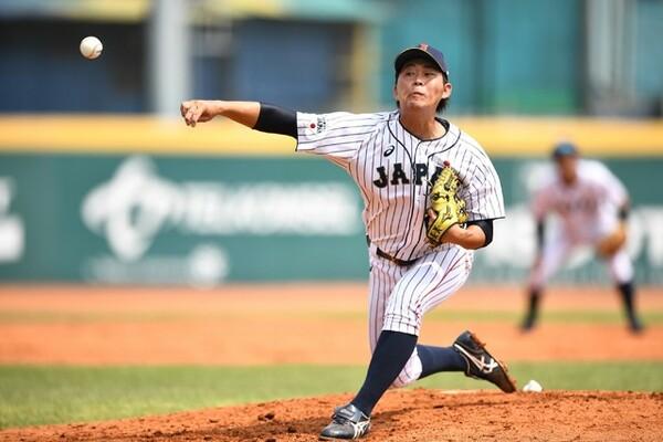 韓国、台湾との重要な試合で好投した荒西。自他ともに認める「やばい」活躍を見せた