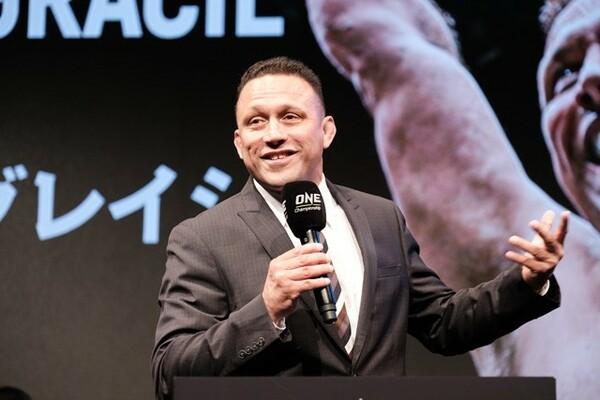 チャトリCEOは「柔術の先生はヘンゾ・グレイシー(写真)」と話すように、自身もずっと格闘技を経験してきた