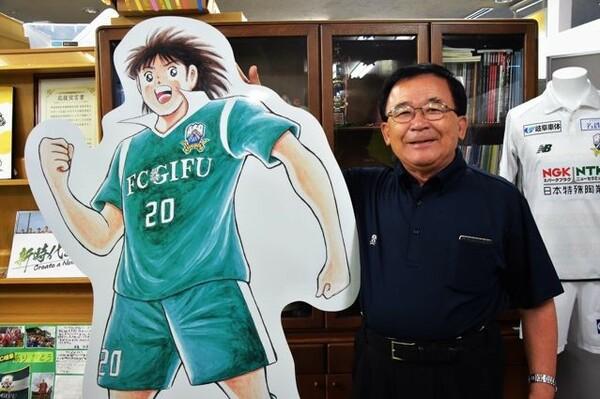 15年に岐阜の社長に就任した宮田博之。就任すると社内の大胆な配置転換を敢行した