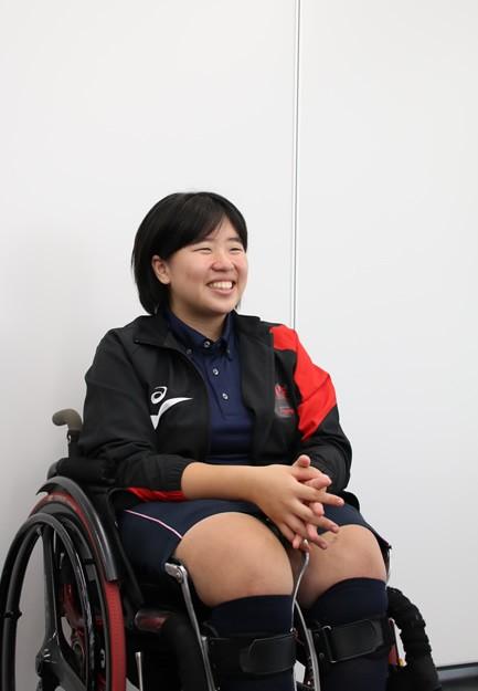 初めての日本選手権でも緊張しなかったと話す森崎だが、バイオリンの発表会では失敗したことも