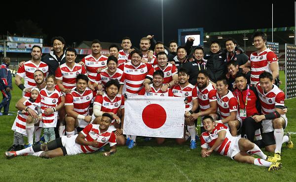組織委員会が目指すのは、日本が躍進したイングランド大会のような熱気あふれる大会だ