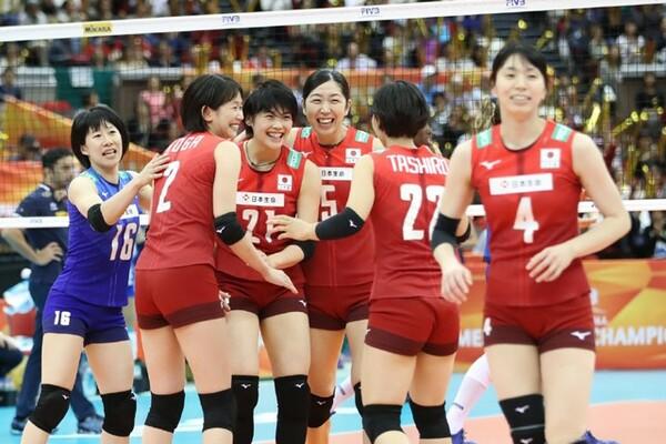 日本は米国との5位決定戦に敗れ、世界選手権を6位で終えた