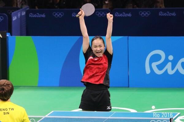 リオ2016オリンピックでは女子団体で銅メダル獲得
