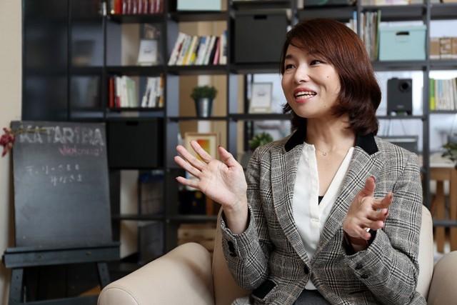 """今村代表は、""""共生""""に慣れていない日本の社会が「オリンピック・パラリンピックをまさに、こういう経験をする機会にしたい」と話す"""