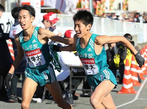 5連覇を狙う青山学院大はエース・森田歩希(左)を補欠に登録