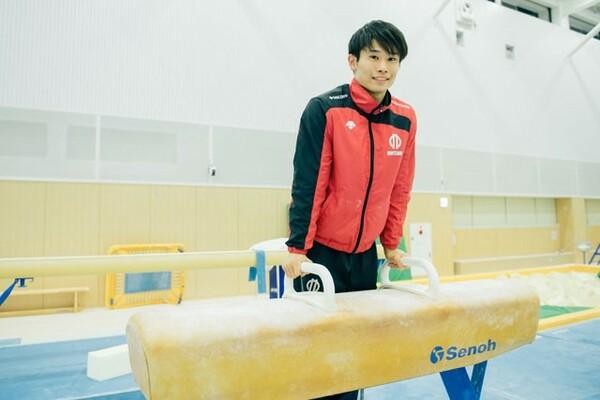 2020年東京五輪出場を目指す体操男子期待の星・萱和磨