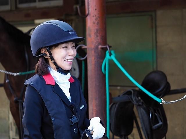 石井の背中を押したのは、夫の「障がいがあっても馬に乗れるらしいよ」という言葉だった