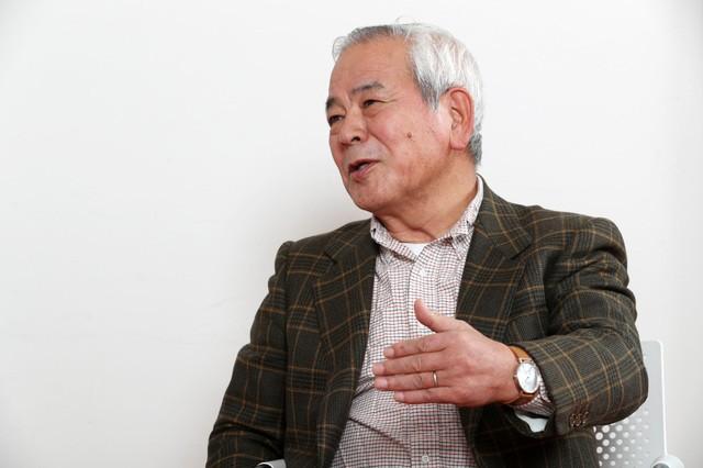 レガシーについて、日本固有の事情を踏まえながら考えていく必要があると話す青柳委員長