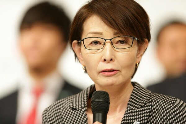 三屋会長は「『世界で勝つ』ということを目標にした戦いになっていく」と期待を寄せた