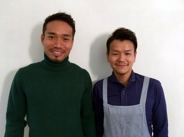 けがの治療中は食事も本当に大事。加藤シェフ(右)との食トレにも力を入れています