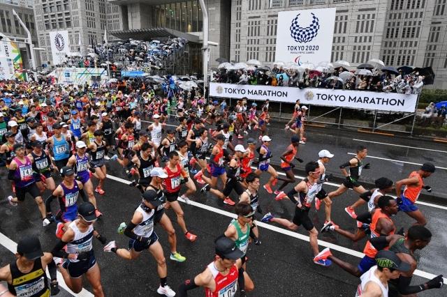 東京マラソン自己ベストチャレンジ -効率的なフォームに変えてみた-