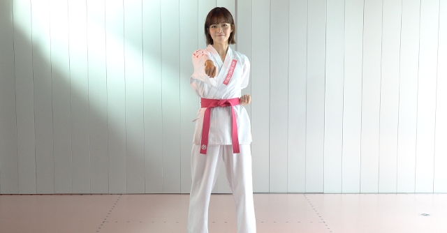 目指せ姿勢美人♪武道フィットネス「直突き」