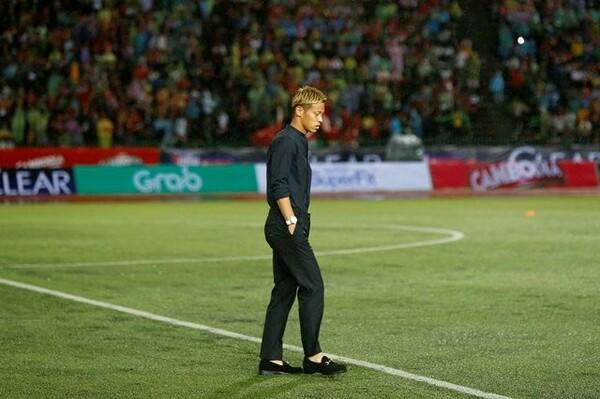 カンボジアのサッカーをよく研究してくる相手に、本田監督はどのような戦い方を選手に求めているのか