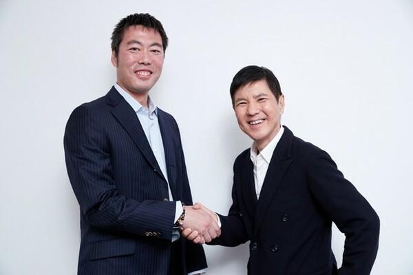 読売ジャイアンツの上原浩治投手(左)とお笑いタレント・関根勤さんに、長く活躍し続けるための秘けつを聞いた
