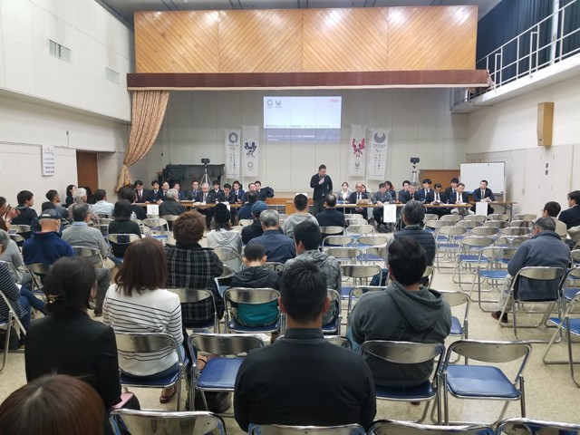 千葉県一宮町で初の住民説明会が開催。井本さんが地元の理解・協力がオリンピック成功の鍵と考える理由とは