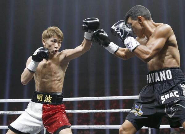 スパーリングをともにしたボクサーは井上尚弥(写真左)の強さをどう感じているのか