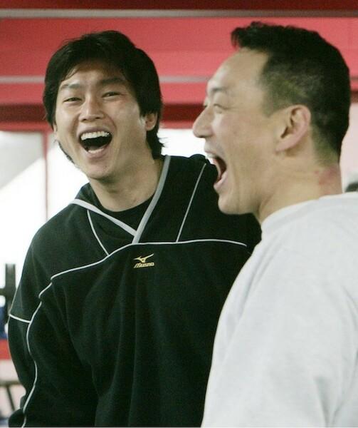 03年のFA移籍後も金本氏は新井には事あるごとに声をかけ続けた
